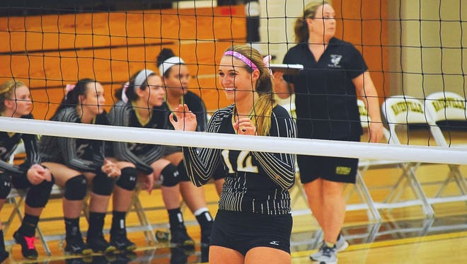 Hayesville senior Maddie Payne got her 2,000th career assist in Tuesday night's 3-0 home loss to Roxboro Community.