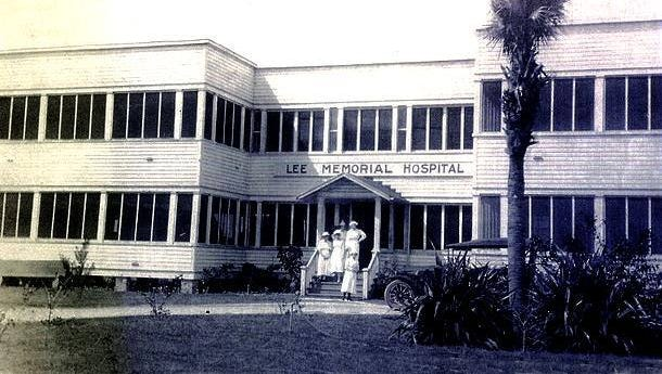 When Lee Memorial Hospital opened in 1916,  Julia Hanson was on the board of directors.