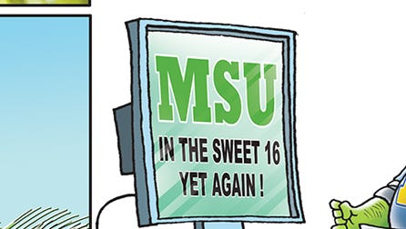 For the MSU Spartans, the Sweet 16 has become a spring tradition.