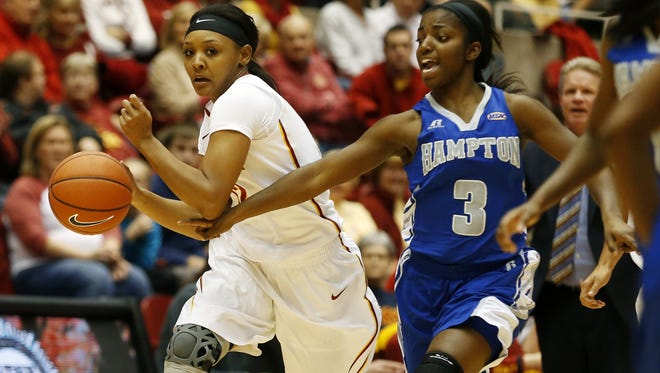 Iowa State's Seanna Johnson is a gametime decision for Wednesday's game.
