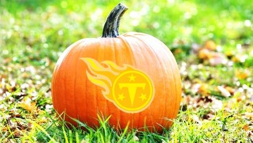 Titans pumpkin