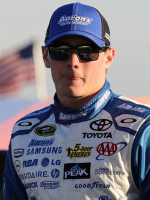 Sprint Cup Series driver Brett Moffitt (55) during qualifying for the Folds of Honor QuikTrip 500 at Atlanta Motor Speedway.