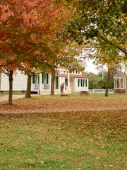 Crunchy leaves await you at Longstreet Farm at Holmdel Park.