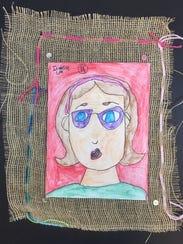 Artwork by Isabella Cox, Grade 2.