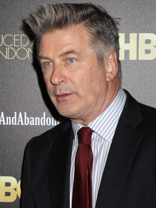 Alec Baldwin, shown last month, was the host of 'Up Late.' (Photo ... Alec Baldwin