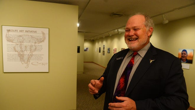 Michael Duchemin, executive director of the C.M. Russell Museum, talks about the museum's Wildlife Art Initiative.