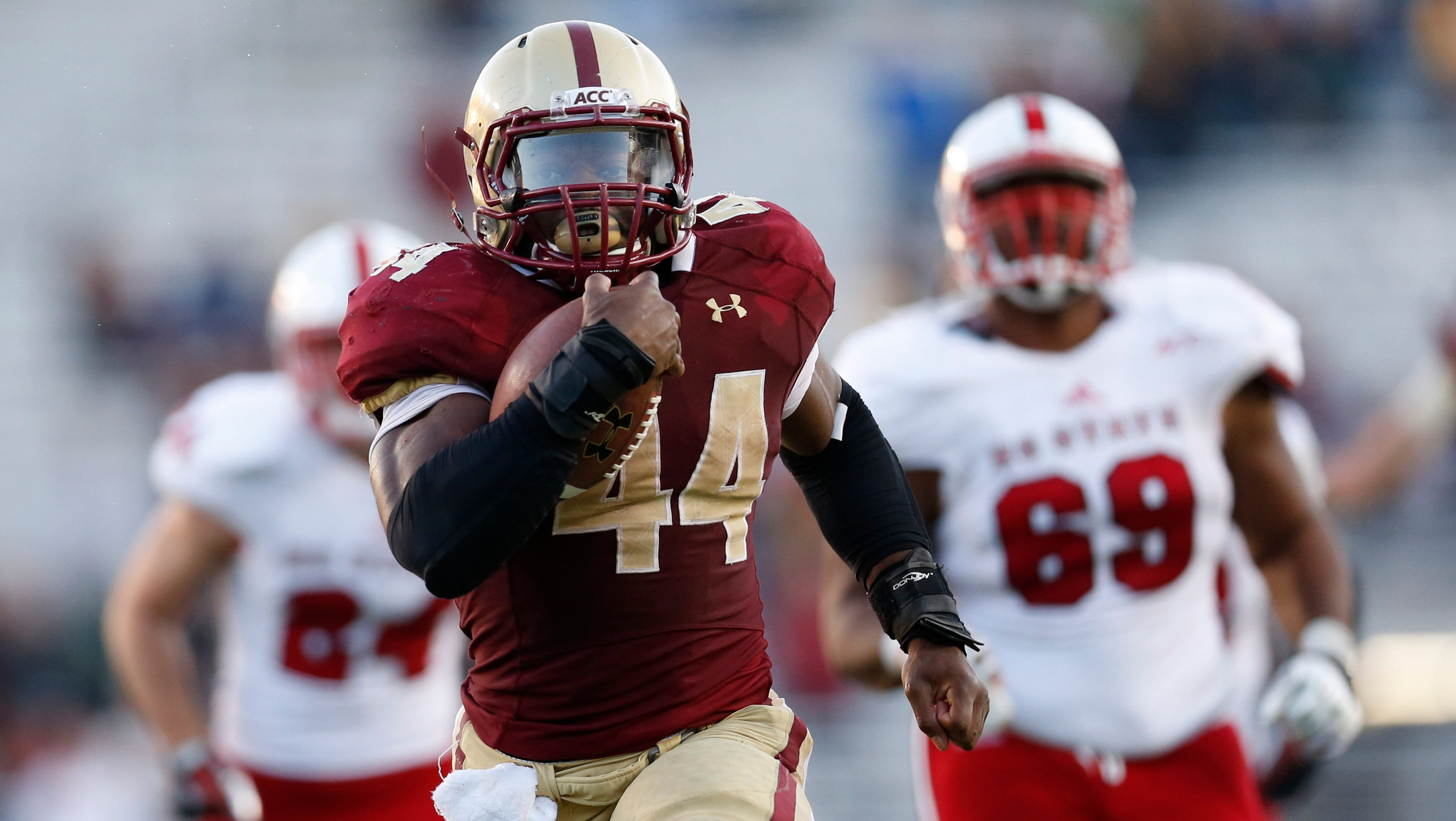 Boston College's Andre Williams: From own book to record book
