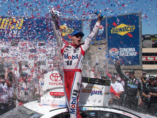Kevin Harvick scores first win of the season at Sonoma