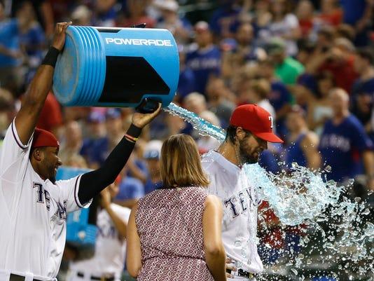 USP MLB: BALTIMORE ORIOLES AT TEXAS RANGERS S BBA USA TX