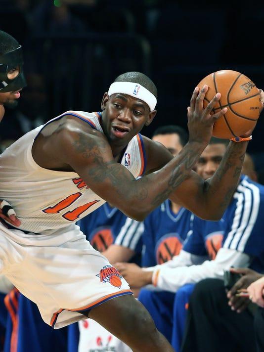 USP NBA_ Cleveland Cavaliers at New York Knicks