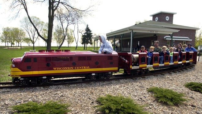 The existing trains at Bay Beach Amusement Park have been operating since the 1950s.