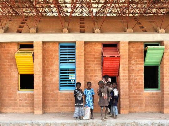 Gando School Extension, Designed by Francis Kéré, Burkinabe, active Berlin,