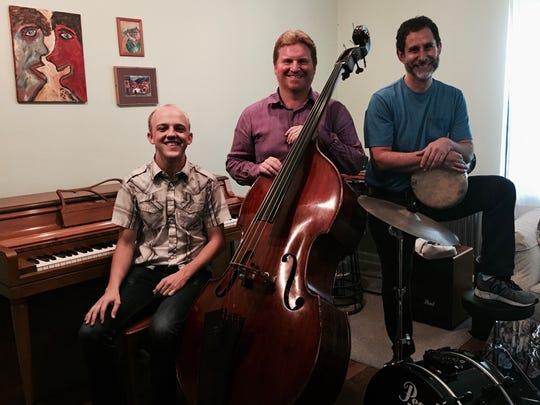 The Bakan-Margut-Hall World Trio performs at 8 p.m. Saturday at Blue Tavern.