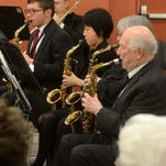 Concert band set for holiday concerts
