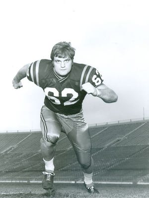 Dave Butz was inducted into the College Football Hall of Fame Tuesday night.