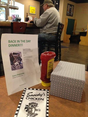 Sneaky's Chicken started a promotion earlier this year to encourage diners to stay off their smart phones during their meal.