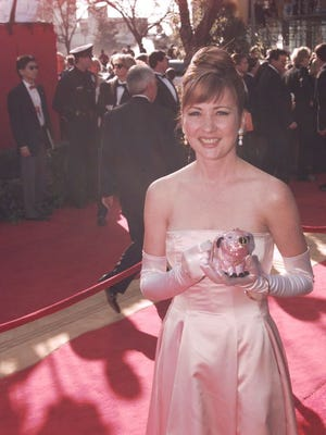 Christine Cavanaugh arrives at the 68th Annual Academy Awards in Los Angeles in 1996. The voice actress died at 51.