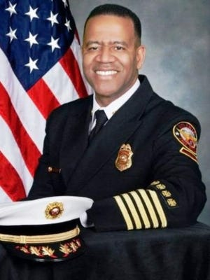 """Atlanta Fire Chief Kelvin Cochran was fired Jan. 7, 2015, after he published controversial comments about homosexuality in a book titled """"Who Told You That You Were Naked?"""""""