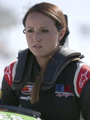 Kenzie Ruston will drive her third season in the K&N Pro Series East tour this year.