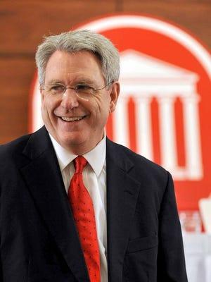 University of Mississippi Chancellor Dan Jones