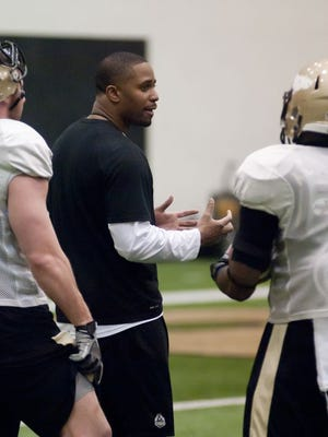 Assistant coach Jafar Williams helped sign three running backs in Purdue's 2015 class.
