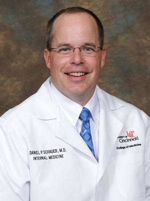 "Dr. Daniel Schauer of the University of Cincinnati led a research team into the benefits of bariatric surgery for the ""super obese,"" people who have body mass indexes of greater than 62."