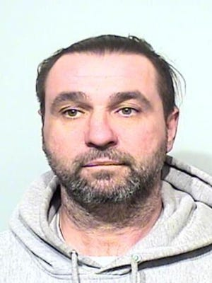 """Frank Bialowas, 44, of Williamstown, was charged Feb. 12 with shoplifting after he was reportedly observed concealing a $54 dimmer switch """"to avoid paying for it"""" at the South Delsea Drive store, according the police report."""