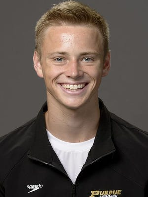 Purdue diver Steele Johnson won two NCAA titles last weekend.