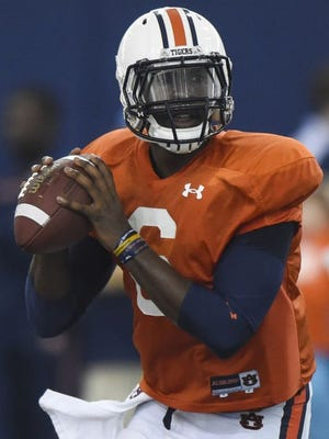 Jeremy Johnson is one of five players to watch in Auburn's A-Day game Saturday at Jordan-Hare Stadium