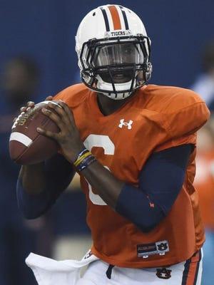 Jeremy Johnson is now the man at quarterback at Auburn.
