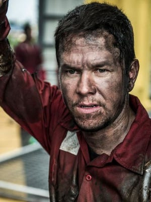 "First look at Mark Wahlberg, who plays ""Mike Williams"" in Lionsgate's DEEPWATER HORIZON, to be released on the Company's Summit Entertainment label."