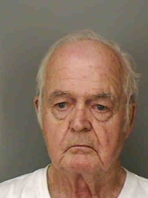 Fred Smith was charged with slashing a woman's tires after bingo.