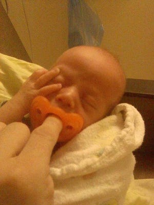 Jacob Dake was taken to a hospital after being found with his parents in a Springfield hotel last weekend.