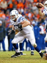 "Colts offensive lineman Jack Mewhort will appear in the upcoming ""ESPN The Magazine Body Issue."""