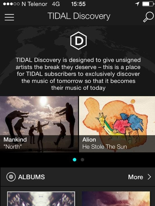 Tidal Discovery