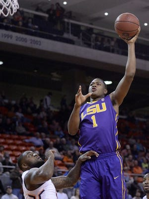 The Memphis Grizzlies picked LSU foward Jarell Martin in Thursday's first round of the NBA Draft.