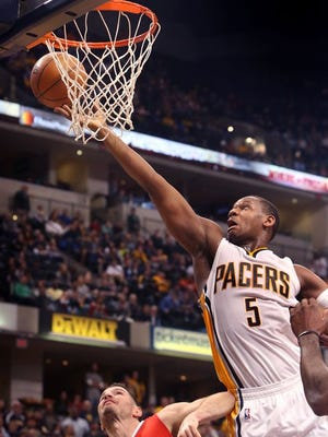 Lavoy Allen returns to the Pacers by signing a multi-year deal.