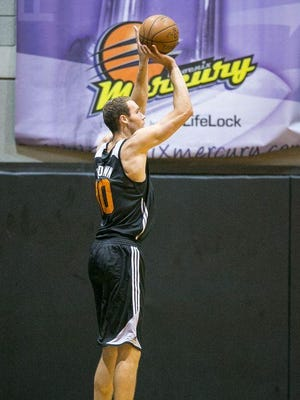 Former UWGB standout Alec Brown made 34.1 percent of his shots from 3-point range during two months with the Phoenix Suns' NBA D-League team.
