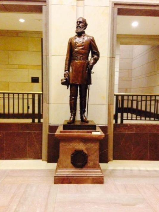 Edmund Kirby Smith statue