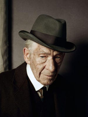"""Ian McKellen on the first day of filming """"Mr. Holmes."""""""
