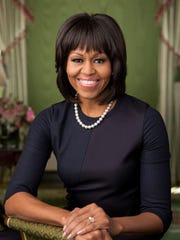 First Lady Michelle Obama made a stop in the Coachella Valley while making a trip to California for the 2015 Special Olympics World Games in Los Angeles, according to the Riverside County Sheriff's Department.