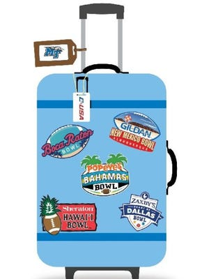 The Associated Press has MTSU going to the Bahamas in December.