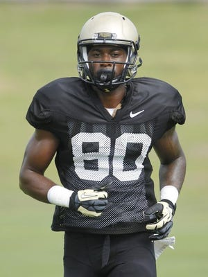 Former minor league baseball player Jarrett Burgess is trying to catch on with Purdue football.