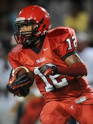 West Marion's Adrian Miller and the Trojans face Tylertown on Oct. 30