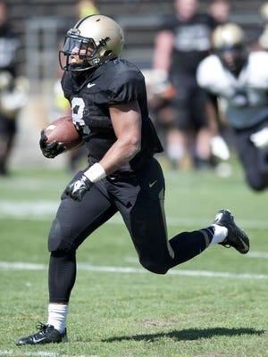 Purdue running back Markell Jones