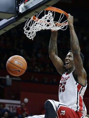 Center Greg Lewis is the only returning full-time starter for Rutgers.