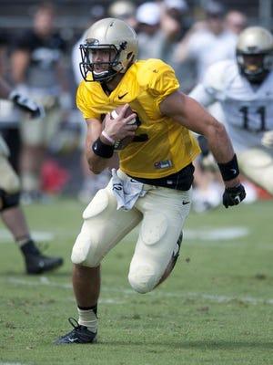 Purdue quarterback Austin Appleby will start the opener at Marshall.
