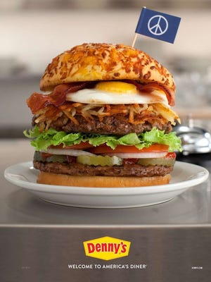 Denny's on Monday proposed to Burger King that the two restaurants come together to make a hybrid of the Whopper and the Bacon Slamburger.