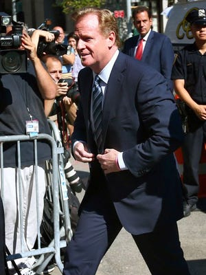 Roger Goodell is entering his 10th season as the NFL's commissioner.