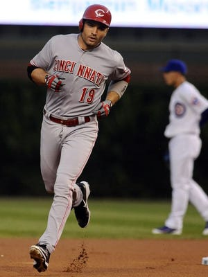 Reds first baseman Joey Votto is having a second half for the ages.